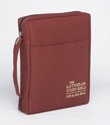 The Lutheran Study Bible Cover - Sangria - Regular Size