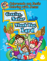 Coloreando con Jesús - bilingüe: Gracias, Señor (Coloring with Jesus - bilingual: Thank you, Lord)