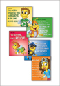 Planet Zoom Bible Verse Posters (Pack of 5)
