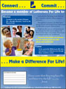 Lutherans for Life Membership Poster