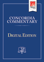 Concordia Commentary on CD-ROM - Colossians