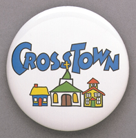 CrossTown - Buttons (Pack of 5)