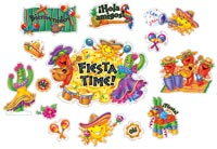 Fiesta Time Bulletin Board