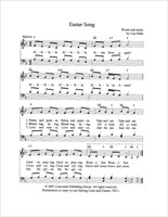A Living Hope Easter Song Score (Downloadable)