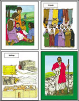Bible Story and Character Cards (Pack of 20)