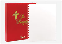Memorial Book Sheets - Blank (Pkg of 10)