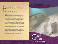 Standard Lent Bulletin:  God's Gift of Forgiveness
