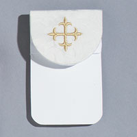 Usher Badge - White Bemberg